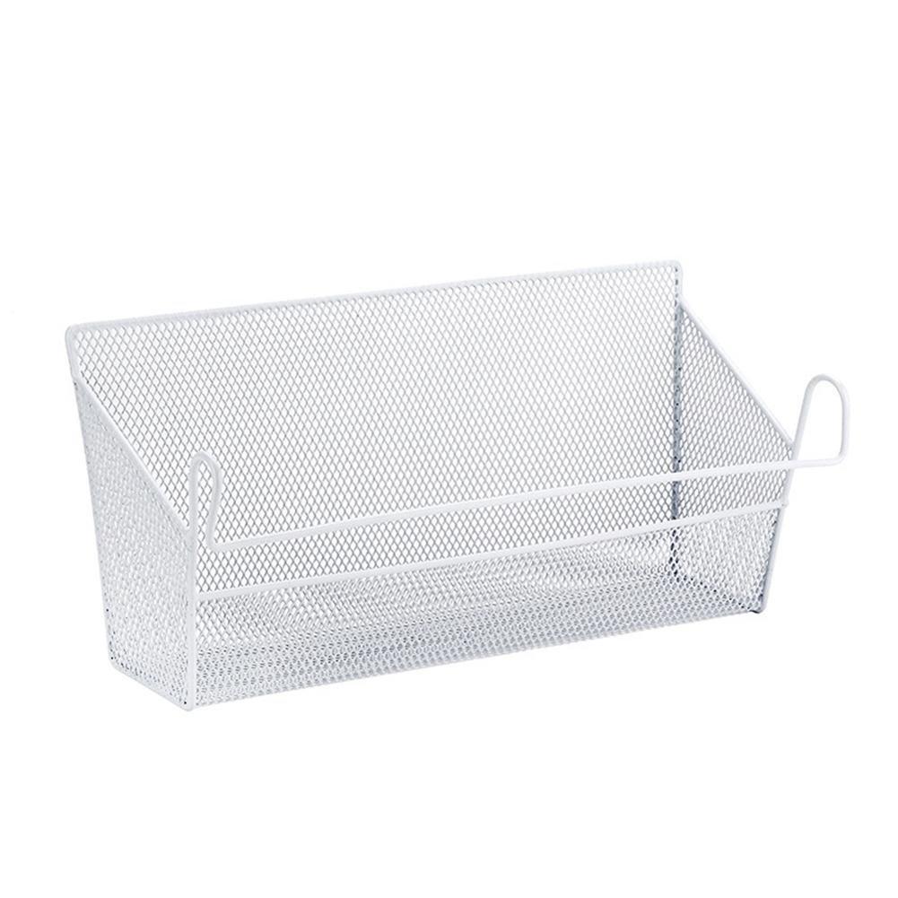 Househome Corner Shelves,Wall Hanging Basket Kitchen Storage Basket Bathroom Storage Basket Spice Rack Office Desk Organizer.