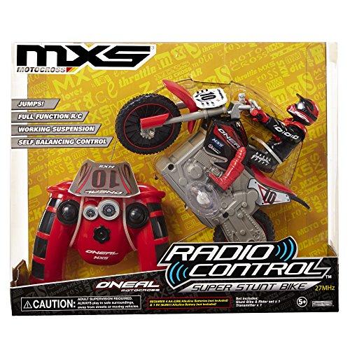 MXS RC Red Super Stunt Bike & Rider Set (Super Vehicle Set)