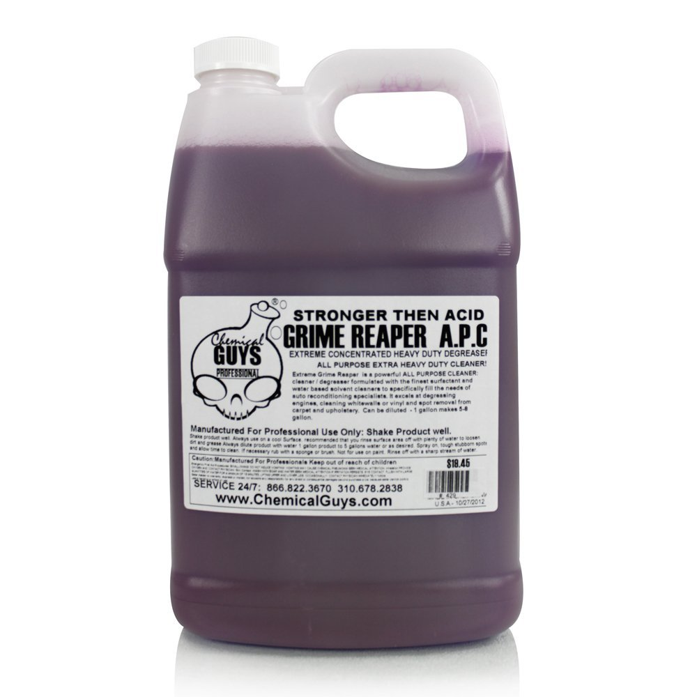 Chemical Guys CLD_104 Grime Reaper Extremely Strong Degreaser (1 Gal) by Chemical Guys