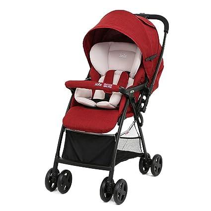 XUE Cochecito de bebé, Carro reclinable, Reversible ...