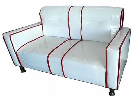 Divani Bianchi Ecopelle : New space divanetto divano per bambini kids in ecopelle vintage