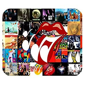 Custom Personalized The Rolling Stones Unique Design Durable Printing Rectangle Mouse Pad