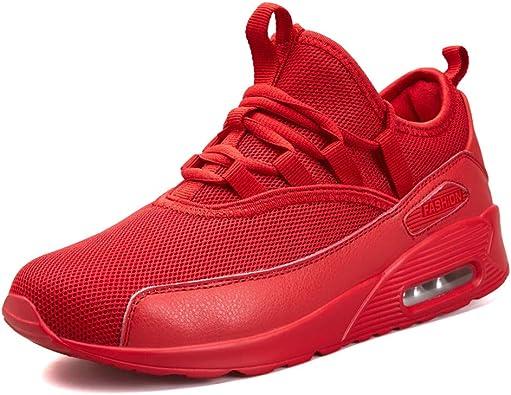 AZOOKEN Zapatillas Running para Hombre Mujer Aire Libre Deporte ...