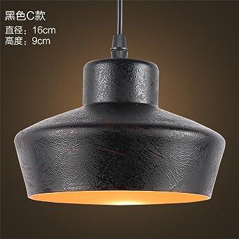 ShengYe Lámpara colgante de techo estilo rústico Araña de ...