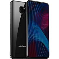 4G Dual SIM Mobile Phone, Ulefone Note 7P (2019) 32GB + 3GB Smartphone Unlocked, Android 9.0, 6.1 Inch Waterdrop Display, Triple Camera, OTG, GPS, Face + Fingerprint Recognition, Black