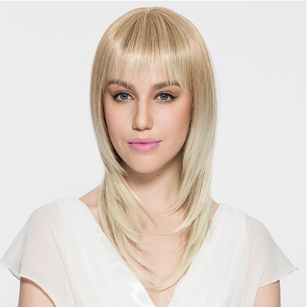amazoncom aneshe brown and blonde ombre bob wig short
