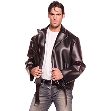 amazon com underwraps costumes men s greaser black one size clothing