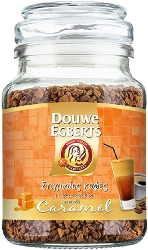 Douwe Egberts Instant Coffee Smooth Caramel Flavour 1 Pack Of 95g Amazon Co Uk Grocery
