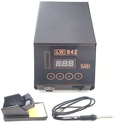 Dobo® Estación de dissaldante soldadora profesional completa con un mando digital manual italiano-LW