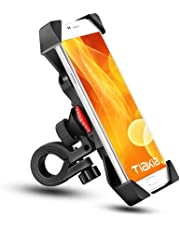 Bike Phone Mount Anti Shake and Stable Cradle Clamp with 360° Rotation Bicycle Phone mount / Bike Accessories / Bike Phone Holder for iPhone for iPhone 7/7+/6/6+/6S/6S+/5S/5C, Samsung Galaxy S3/S4/S5/S6/S7/S8 Note 3/4/5,Nexus,HTC,LG & GPS Devices Android GPS Other Devices Between 3.5 to 6.5 inches