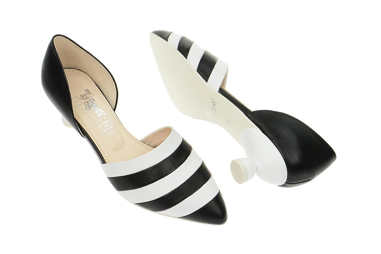 Tiggers Dana 1SAS Pumps in schwarz weiß gestreift elegant