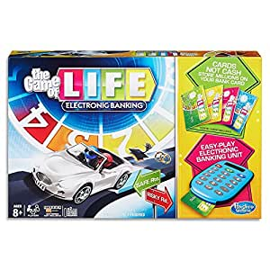 The Game of Life - Electronic Banking - Family Board Game - Ages 8+