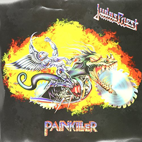 Painkiller  (Periwinkle/Die-Cut Sawblade) (Rsd) (Vinyl) for sale  Delivered anywhere in Canada