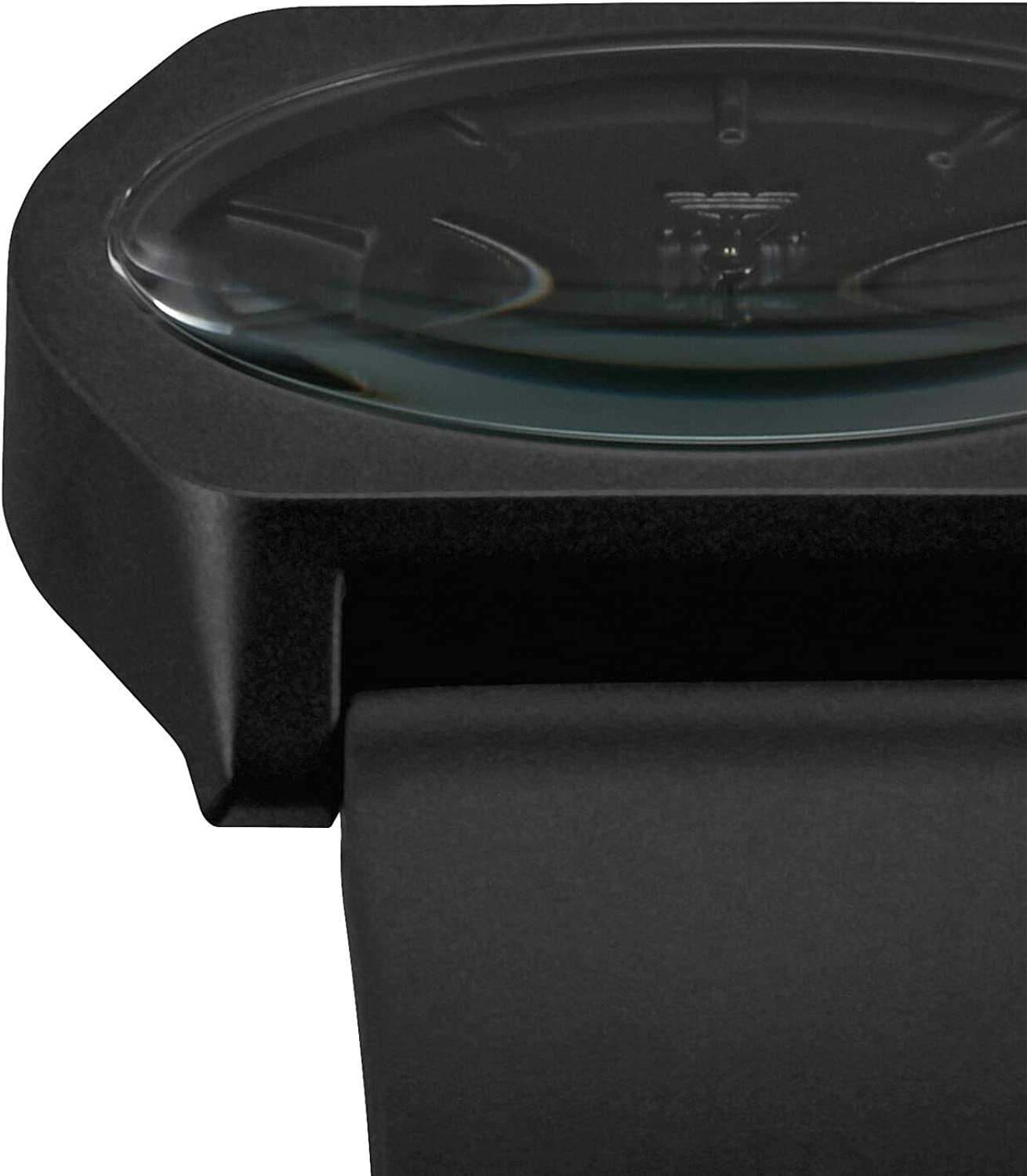 adidas Watches Process_SP1. Silicone Strap, 20mm Width (38 mm). All Black
