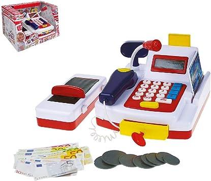 Happy People 45052 - Caja registradora, multicolor: Amazon.es: Juguetes y juegos