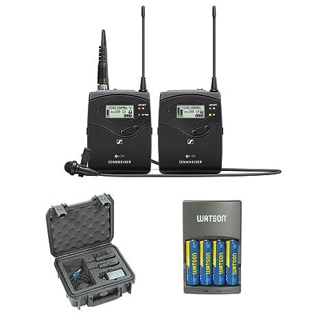 Amazon.com: Sennheiser ew 112P G4 - Sistema de micrófono ...