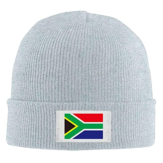 Demin09 Mens Womens Knit Beanie Hats South Africa Flag Warm Winter Skull  Caps at Amazon Men s Clothing store  16543115d85