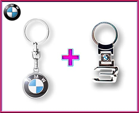 BMW logo auto car Llavero + BMW 3 series Llavero: Amazon.es ...