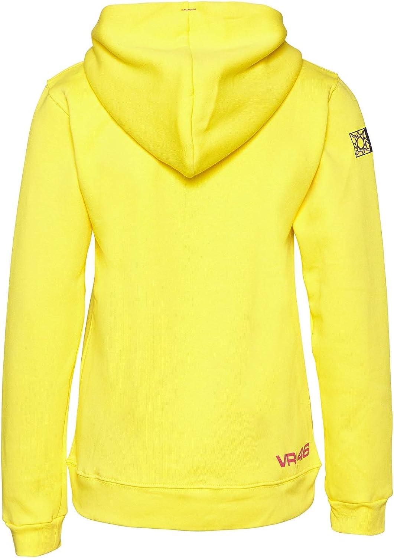 MotoGP Valentino Rossi - sudadera con capucha para mujer, color amarillo