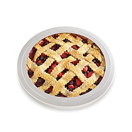 The P&ered Chef Pie Crust Shield 10 1/2-Inch  sc 1 st  Amazon.com : pampered chef pie plate - Pezcame.Com