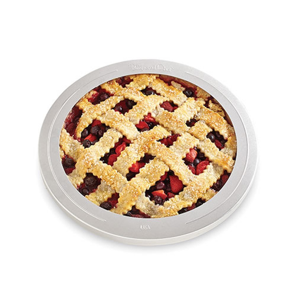 The Pampered Chef Pie Crust Shield, 10 1/2-Inch