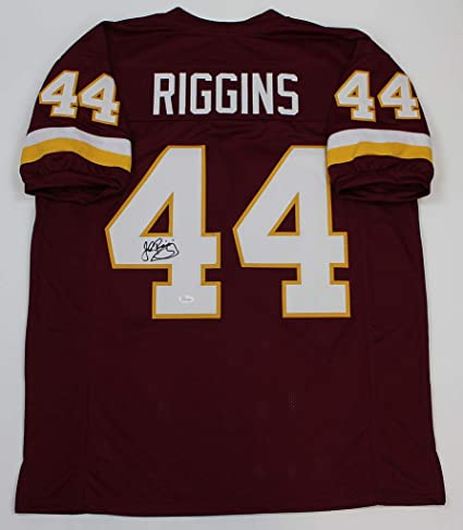 save off 188df dd624 John Riggins Autographed Burgundy Redskins Jersey - Hand ...