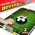 Table Air Hockey Soccer with 2 Gates for Kids Girls Boys,Hover Ball Desktop Board Game Fitness Sports Air Power Training Football Family Party Favors Supplies Christmas Gift for Children Adult Teen