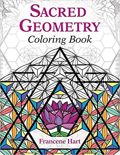 Amazon.com: Sacred Geometry Coloring Book (9781620556528): Francene ...