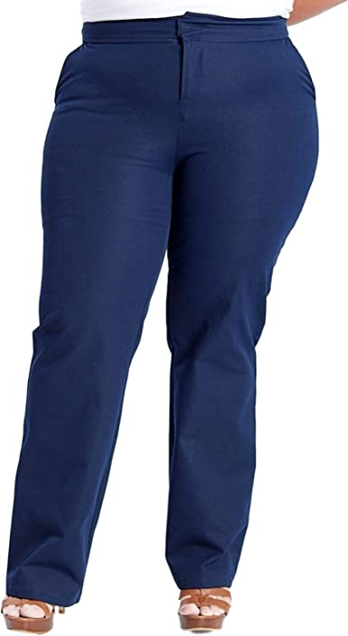 Amazon Com Susan Miller Pantalones De Vestir Para Mujer Talla Plus Clothing