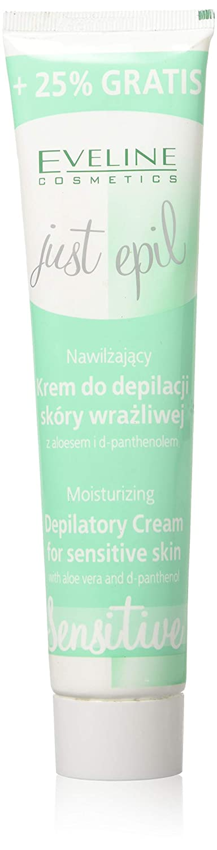 Eveline Just Epil Moisturizing Depilatory Cream for Sensitive Skin, 4.22 Fluid Ounce Moleo-Baby M00007059