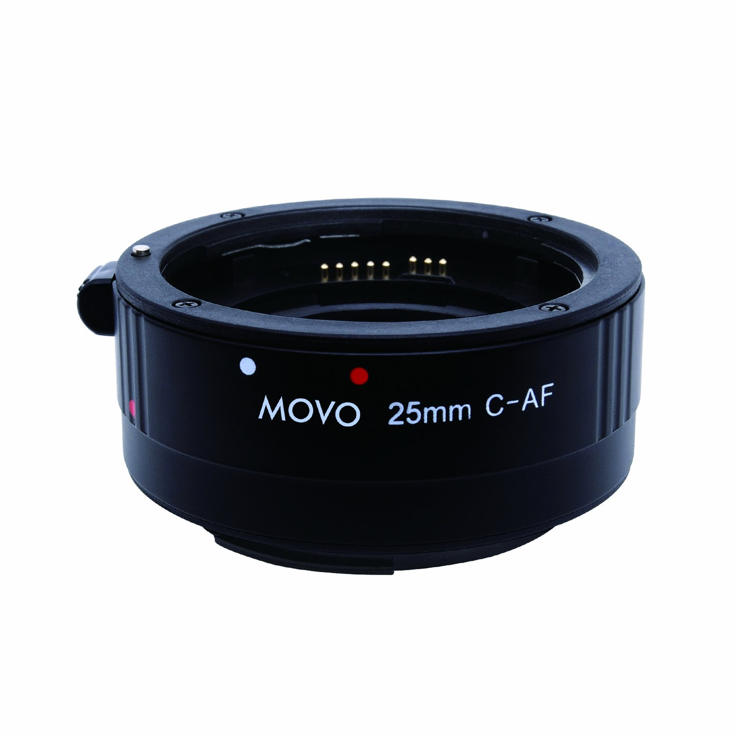 Movo Photo AF 25mm Macro Extension Tube for Canon EOS DSLR Camera Economy Mount
