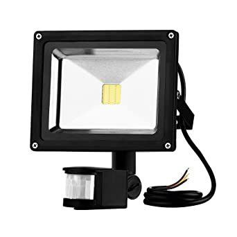 GUO LED Outside Motion Sensor Flood Light 20W Outdoor Floodlights