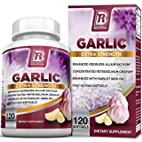 BRI Nutrition Odorless Garlic – 120 Softgels – 1000mg Pure And Potent Garlic Allium Sativum Supplement (Maximum Strength) – 60 Day Supply Review