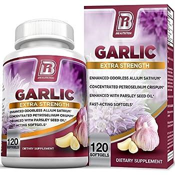 Amazon com: Extra Strength Garlic with Allicin - Powerful Immune