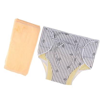 perfk Pañales Desechables Adultos Briefs Pants, Pañales Absorbentes Max Incontinencia de Bienestar, S /
