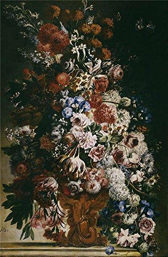 Oil painting ` Belvedere Andrea Florero ( II ) 16941700`で印刷ポリエステルキャンバス、24x 37インチ/ 61x 93cm、最高のゲームルーム装飾とホームデコレーションとギフトはこの高解像度アート装飾プリントキャンバス