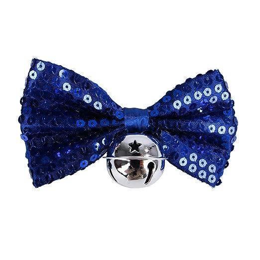 Decdeal Collares de Perro para Navidad Corbata de Mascotas Arco ...