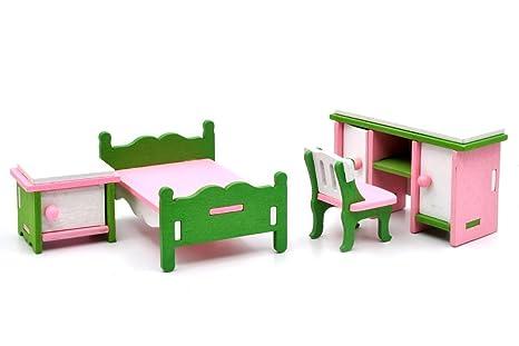 Mobili Per Bambole In Legno : Leomark casa delle bambole sogno mansion in legno mobili e