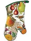 Michel Design Works Golden Pear Oven Mitt - Pears & Flowers