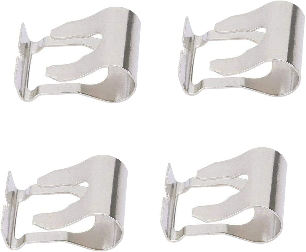 Wiper Linkage Motor Repair Clip Kit for Car Windscreen Wiper Windshield Linkage Repair Fixing Clips (2 Pair)