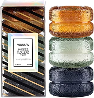 product image for Voluspa Japonica 3 Macaron Glass Candle Gift Set, 1.8 Ounces Each