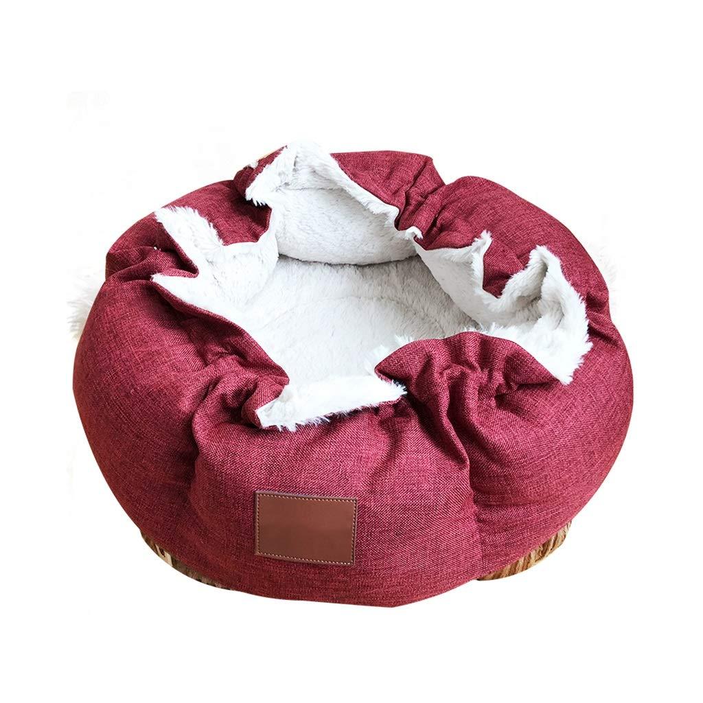DSADDSD Cama para Mascotas Gato Nido Bolsa de Dormir Engrosamiento Mantener Caliente en Invierno Tienda de campaña Casa artículos para Mascotas (Size : 15.5cm*41cm): Amazon.es: Hogar