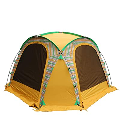 Large Open Beach Tent Cabana, 5x5 Anti UV Sun Shelter Canopy Neptune: Shade The Whole Family! Easy Up Party, Sports & Events Gazebo for Park, Garden, Patio & More, Quick Outdoor Awning for 6 People: Sports & Outdoors