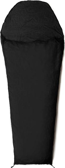 Noir SnugPak Soie Sac de Couchage Liner