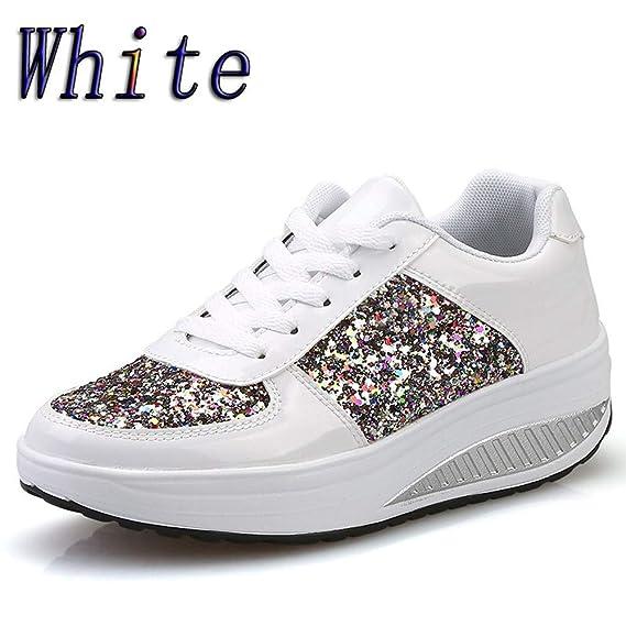 Zapatos Mujer,VECDY2019 Moda Zapatillas Mujeres Cuñas ...