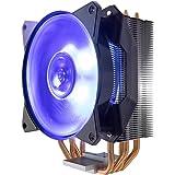 Cooler Master MasterAir MA410P RGB Ventola per CPU '4 Heatpipes, 1 x MasterFan AB 120 RGB Ventola, LED RGB' MAP-T4PN-220PC-R1