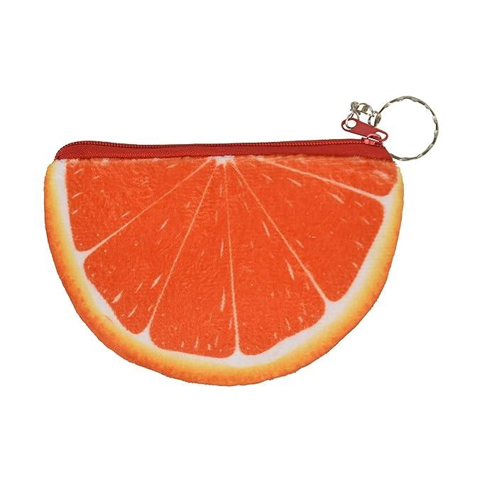 Amazon.com: Bolsa de frutas Slice cartera – Llavero de ...
