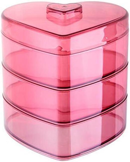 Caja de plástico de la galleta caja de fruta de la caja de almacenamiento del caramelo del caramelo para el hogar -A1: Amazon.es: Hogar