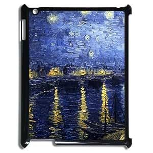 LZHCASE Diy Cover Custom Case Van Gogh For IPad 2,3,4 [Pattern-1]