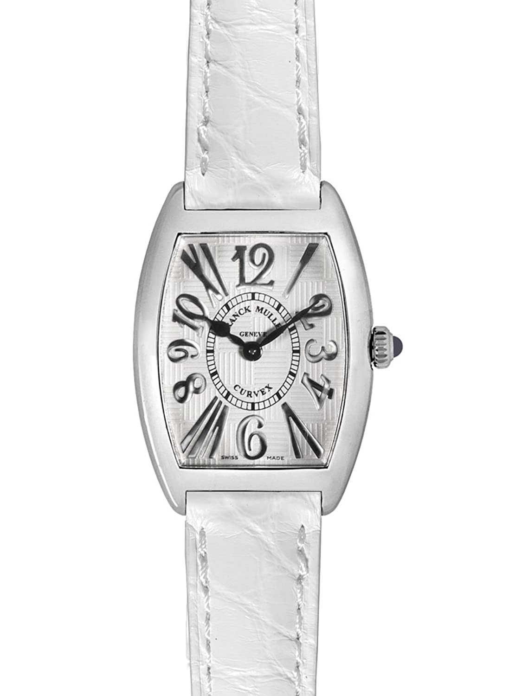 フランクミュラー トノーカーベックス アンサンブル レリーフ クロコレザー 腕時計 レディース FRANCK MULLER 1752 QZ REL V-R[並行輸入品] B00QFAAMAC